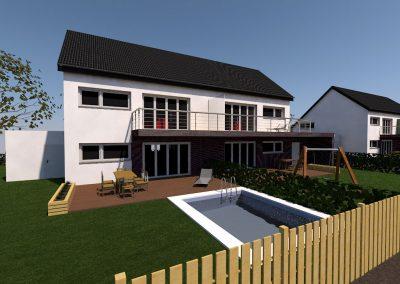 mwa architekturbüro image 1 400x284 - Doppelhaus Klinker2020