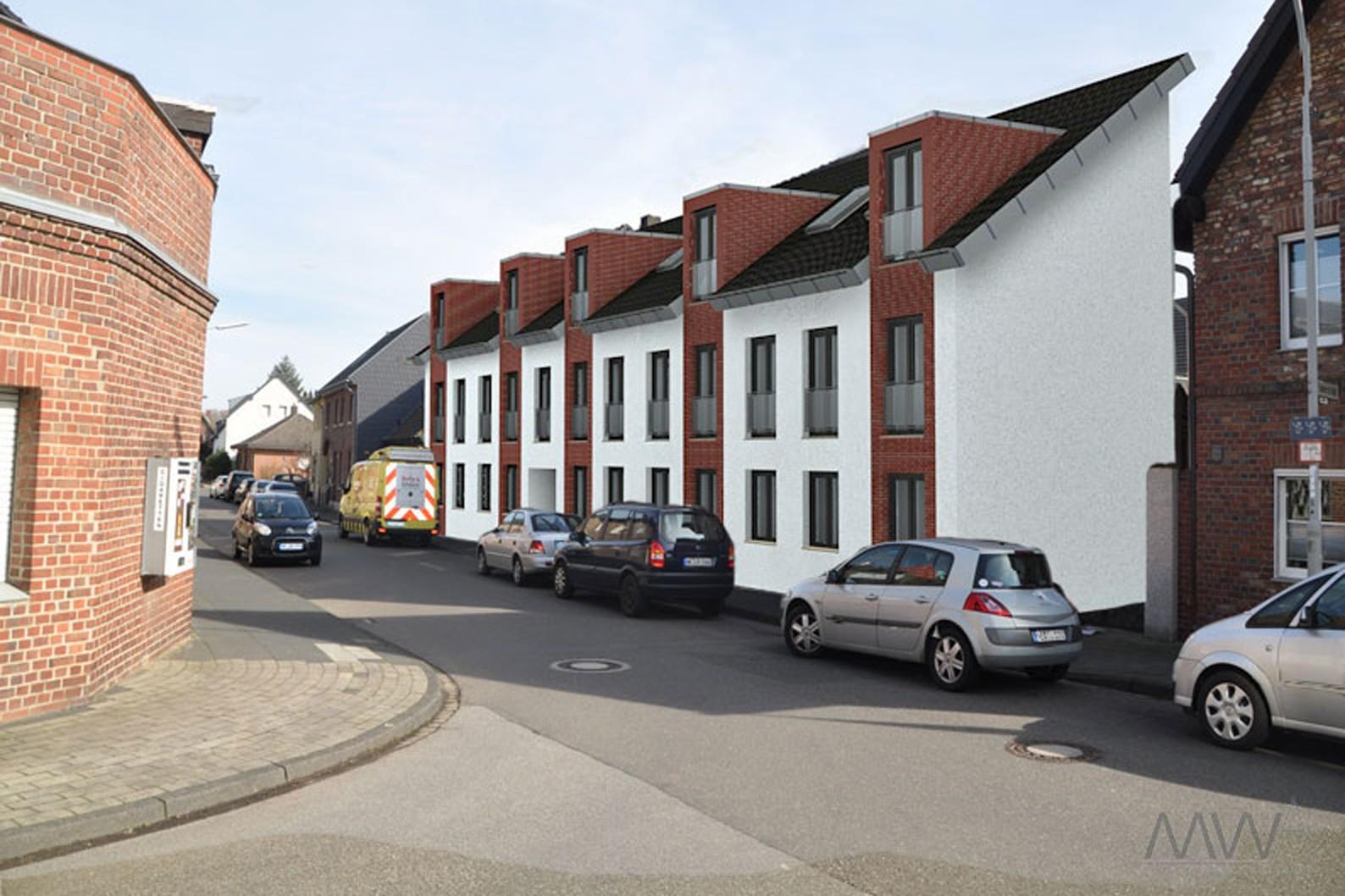 mwa architekt weyerstraße 2 - Mehrfamilienhaus Klinker2020