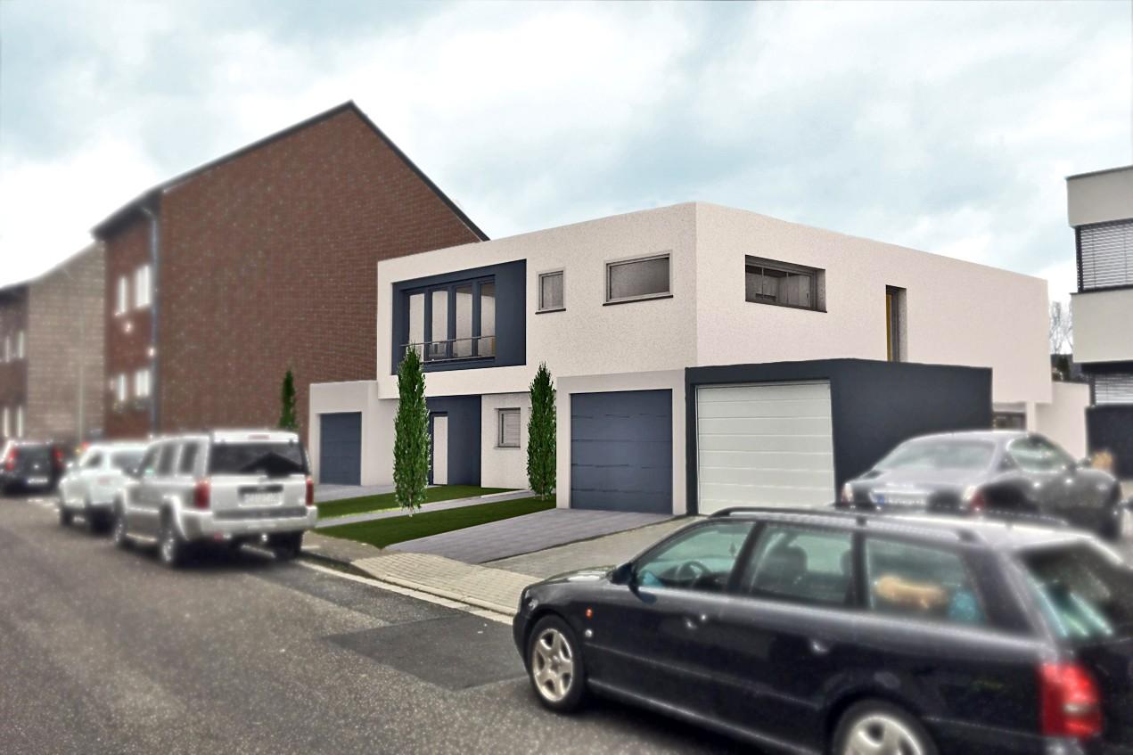 Prj.Michel.3D Hausansichtfü - Architektenhaus 2.0