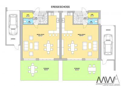 architekturbuero mwa doppelhaus klinker2 400x284 - Doppelhaus Klinker2020